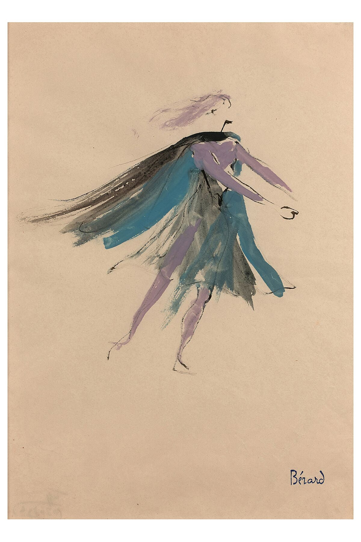 Theater Costumes Project by Christian Bérard (1902-1949)
