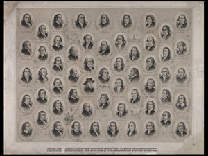Signers of the Declaration of Independence by Ole Erekson - 1876