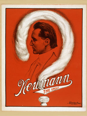 poster Newmann the Great (C .A. George Newmann), Magic Poster . Standard Litho. Co., St. Paul, 1929.