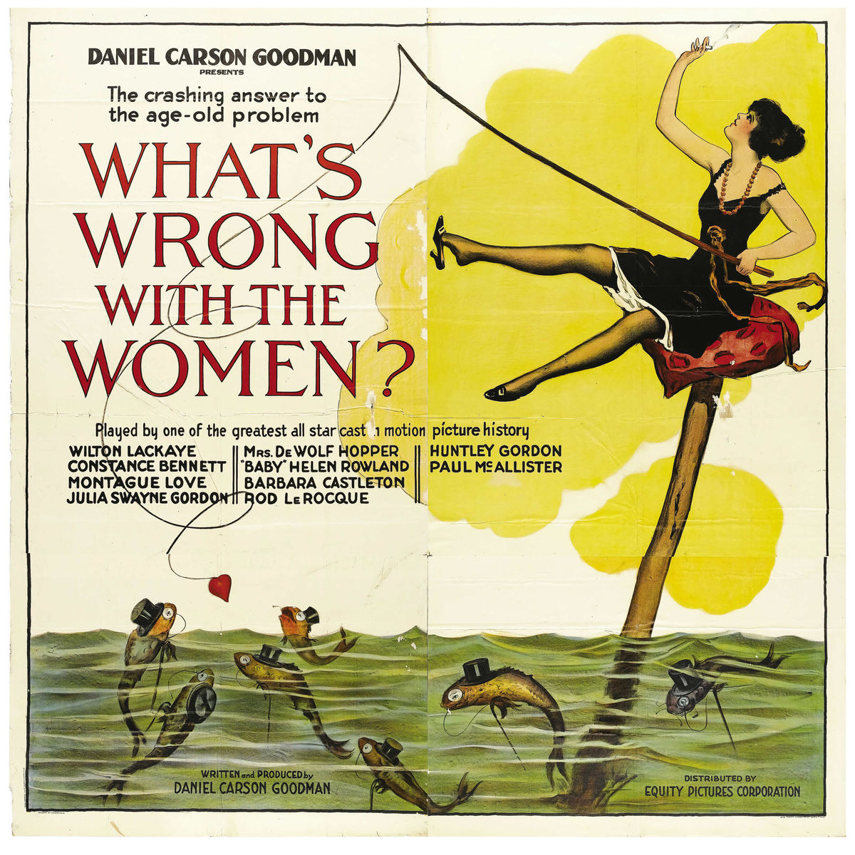 What's Wrong with the Women?, movie poster - 1922