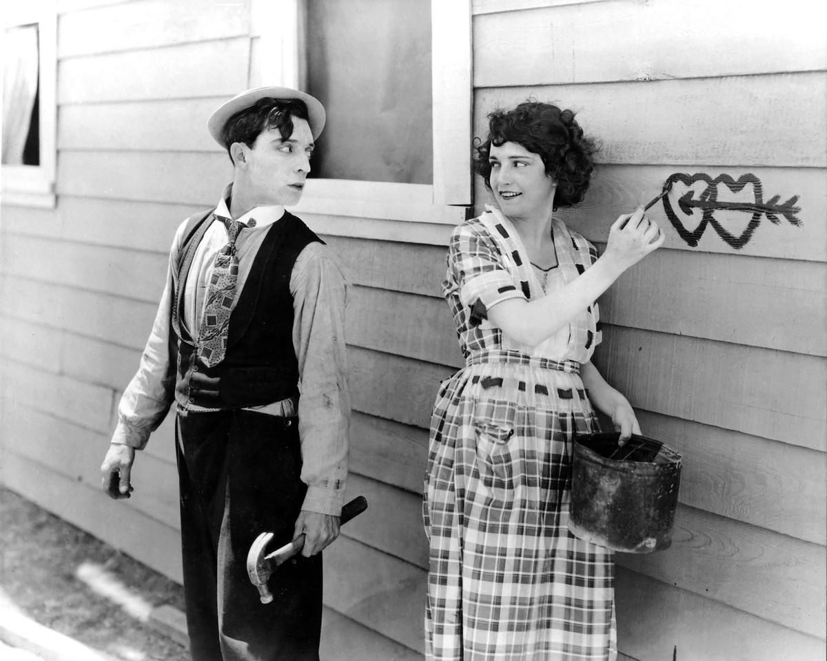 Still Photograph from Buster Keaton's 'One Week' - 1920
