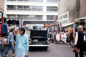 Petticoat Lane Market, London - 1972