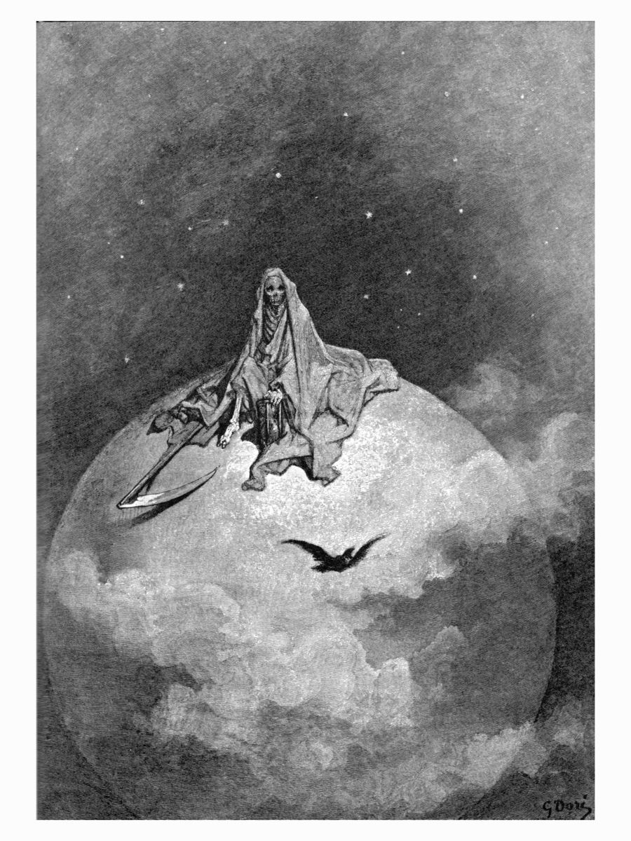 Dreams No Mortal Ever Dared to Dream Before by Gustave Doré - 1884