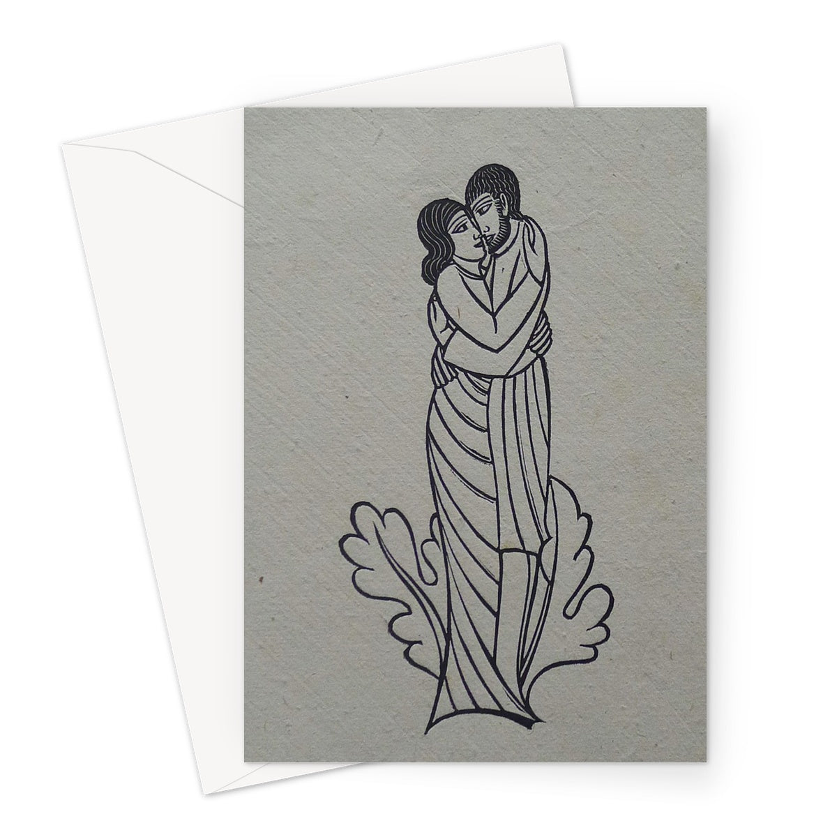 Troilus and Criseyde by Eric Gill, 1927 - Valentine's Greeting Card
