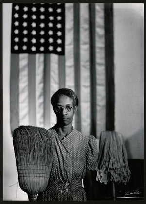 American Gothic by Gordon Parks - 1942