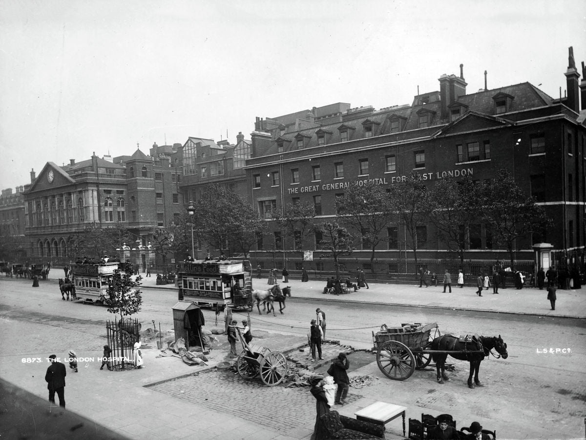 Exterior of the London Hospital