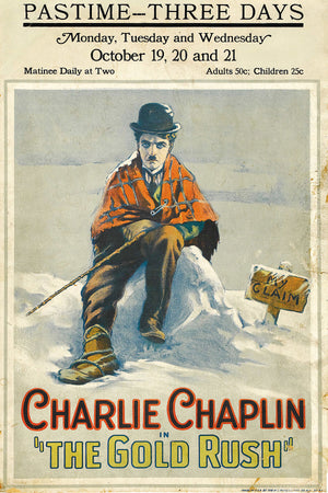 Charlie Chaplin, The Gold Rush - 1925