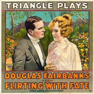 Poster for 'Flirting with Fate' - 1916
