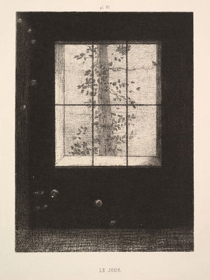 Day (Le Jour) by Odilon Redon - 1891