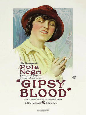 Gipsy Blood, movie poster - 1918