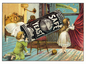A Shooting Star of 'Warner's Safe Yeast' - 1890