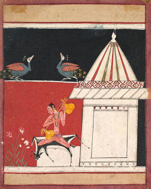 Kedara Ragini c. 1650 Central India, Rajasthan, Malwa school, 17th century