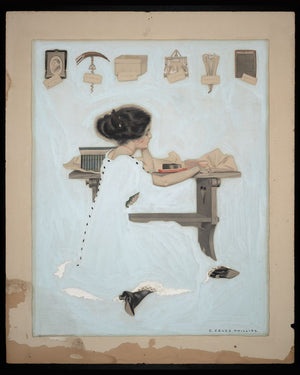 Know All Men By These Presents by C. Coles Phillips - 1910