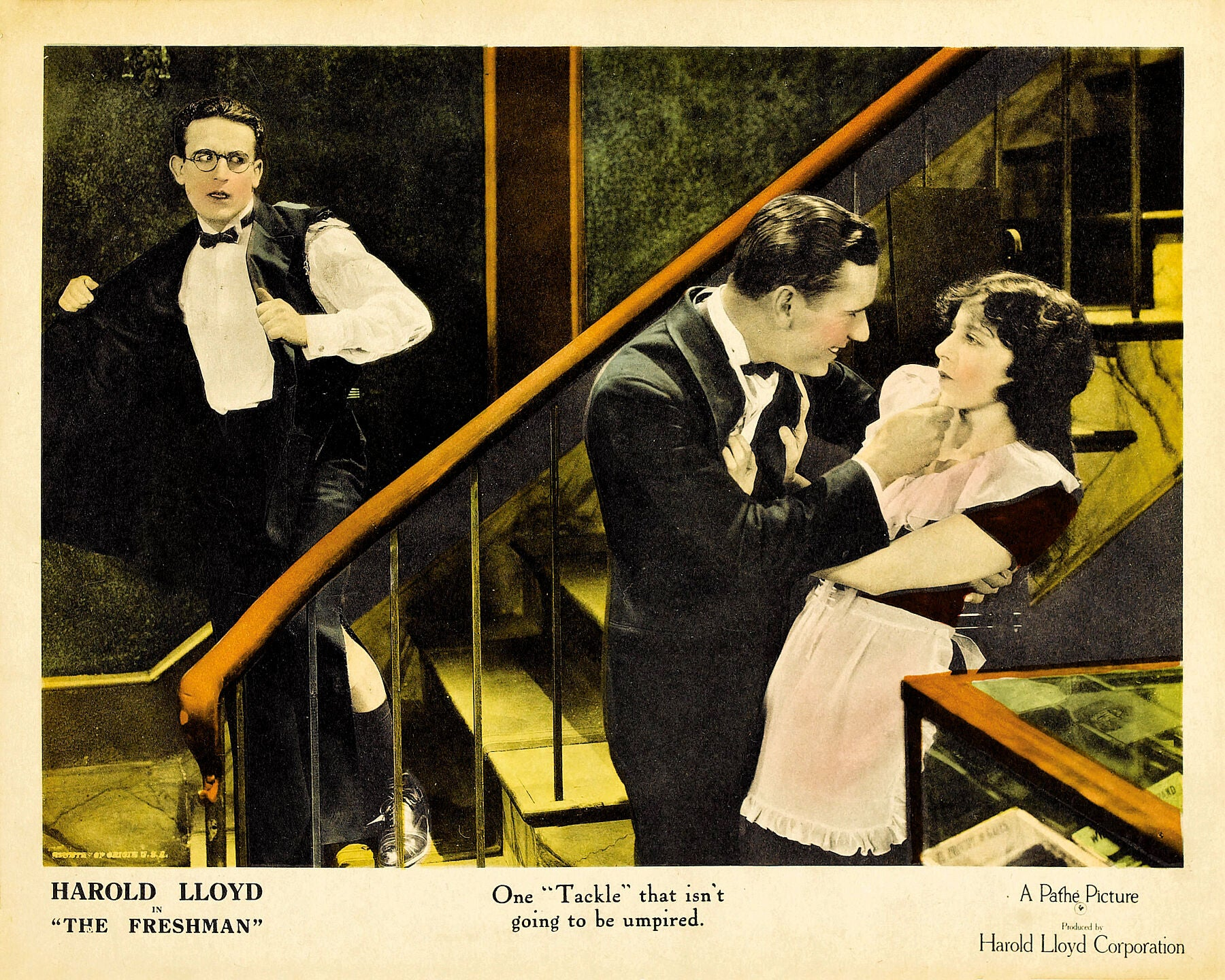 Poster for The Freshman movie, 1925.