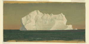 Floating Iceberg by Frederick Edwin Church - 1859