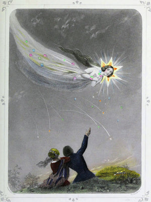 Shooting Star by J.J. Grandville - 1847