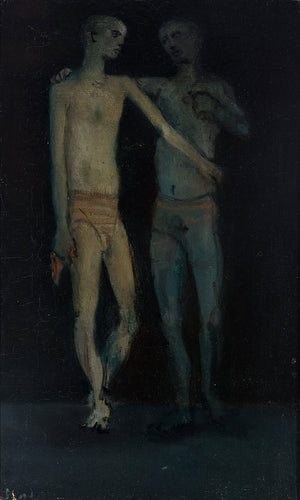 Deux Personnages by Christian Berard (1902-1949)