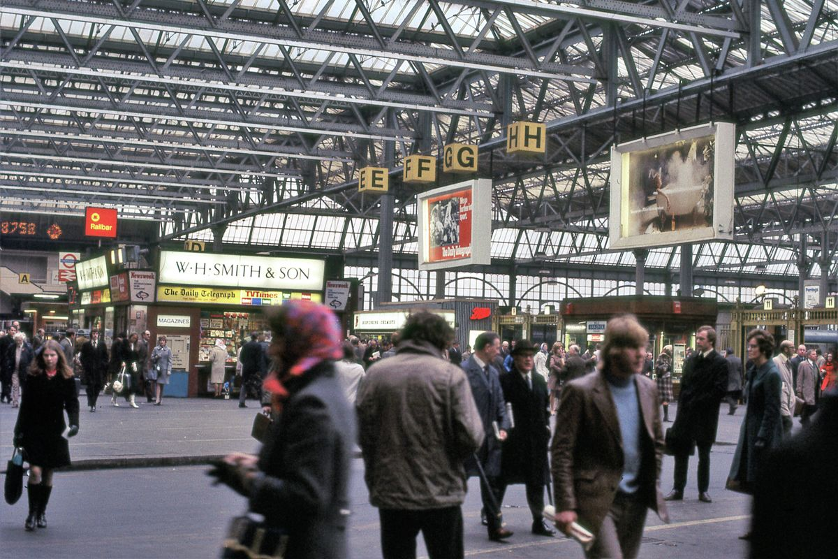 Waterloo Station, London - 1972