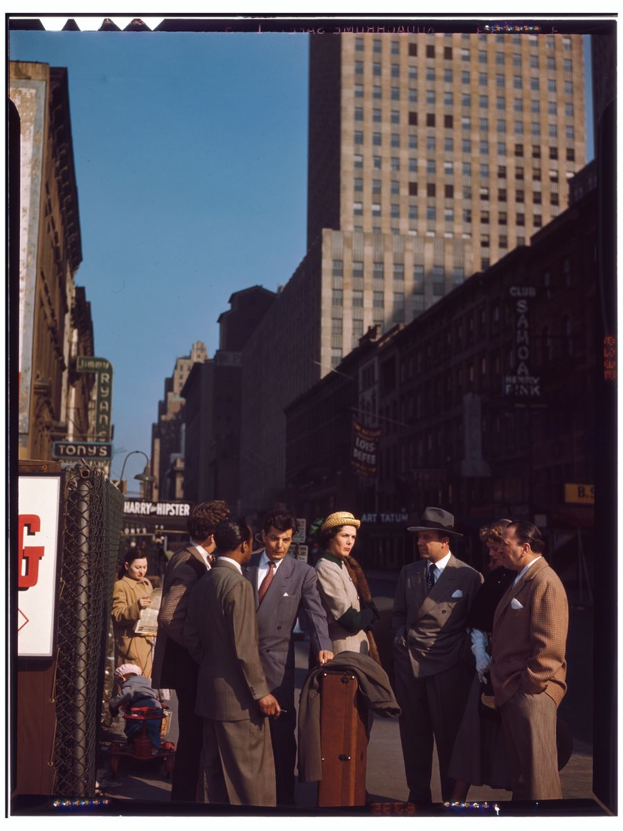 52nd Street by William P. Gottlieb - c.1948