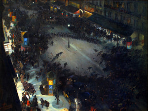 La Charge by André Devambez - 1902-1903