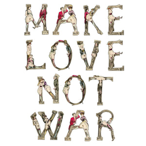Make Love Not War - 1880 (Redux)