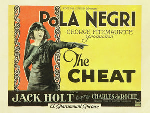 The Cheat, lobby card - 1923