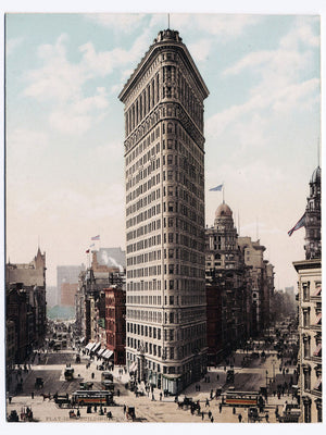 Flat-Iron Building, New York - c.1903