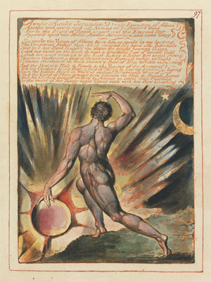 Jerusalem - The Emanation of the Giant Albion by William Blake - etched 1804-1820
