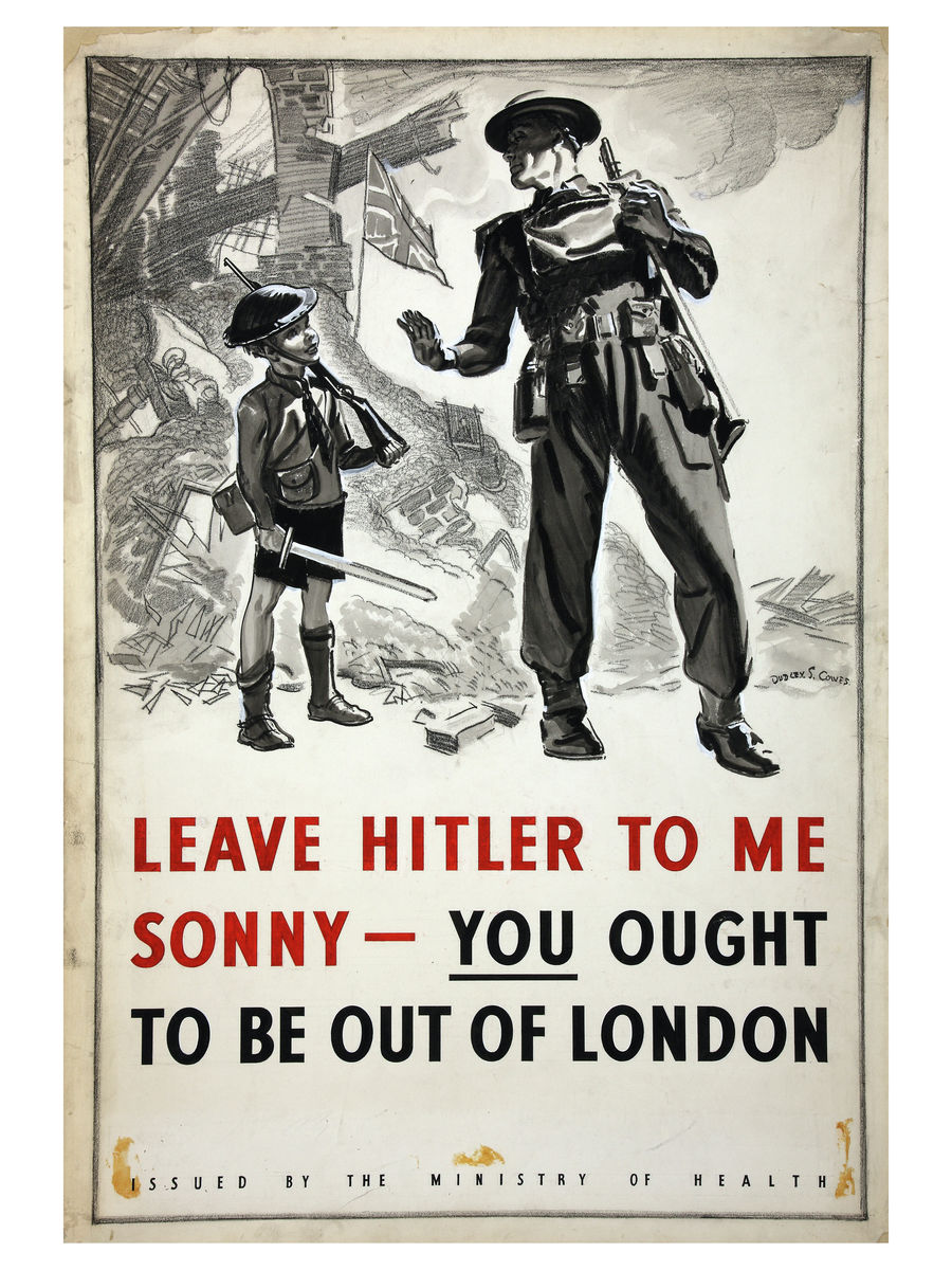 Leave Hitler To Me Sonny by Dudley S. Cowes - c. 1940