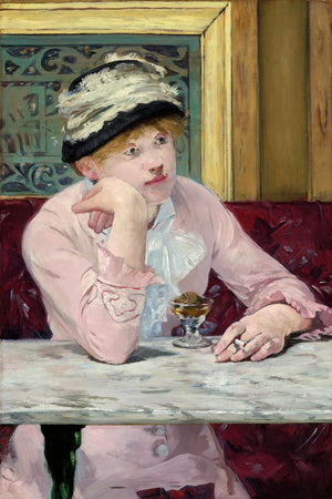 Plum Brandy by Edouard Manet - c. 1877