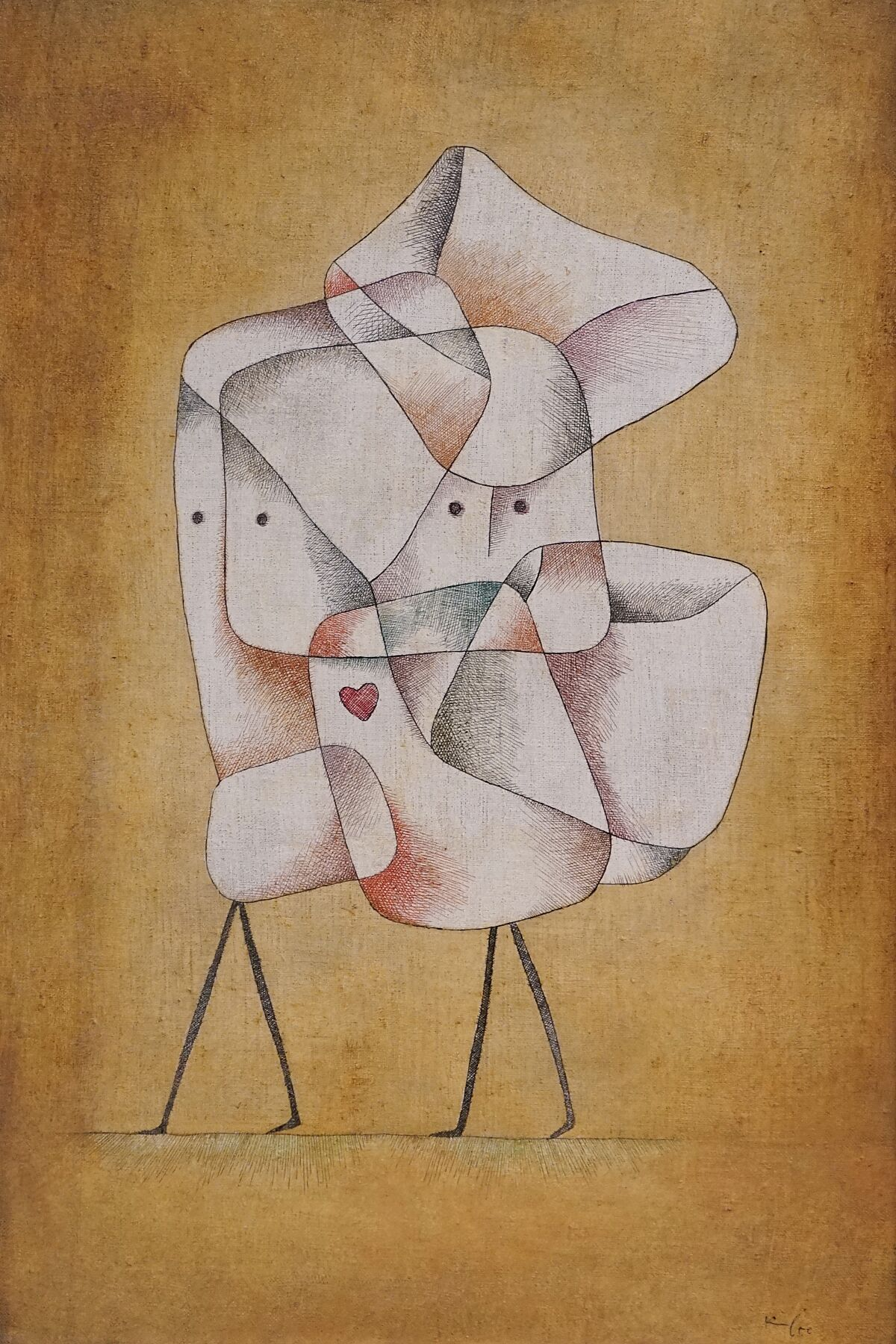 Siblings by Paul_Klee - 1930