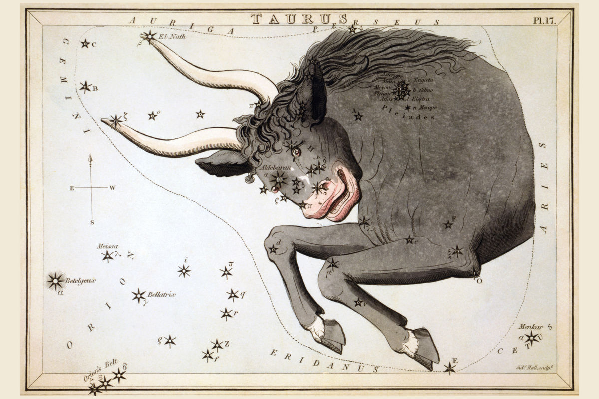 Taurus by Sidney Hall - 1825