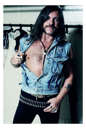 Backstage with Lemmy of Motorhead by Mark Weiss - 1991