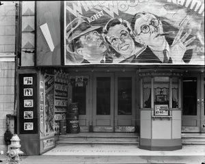 Liberty Movie Theater in New Orleans by Walker Evans - c.1935