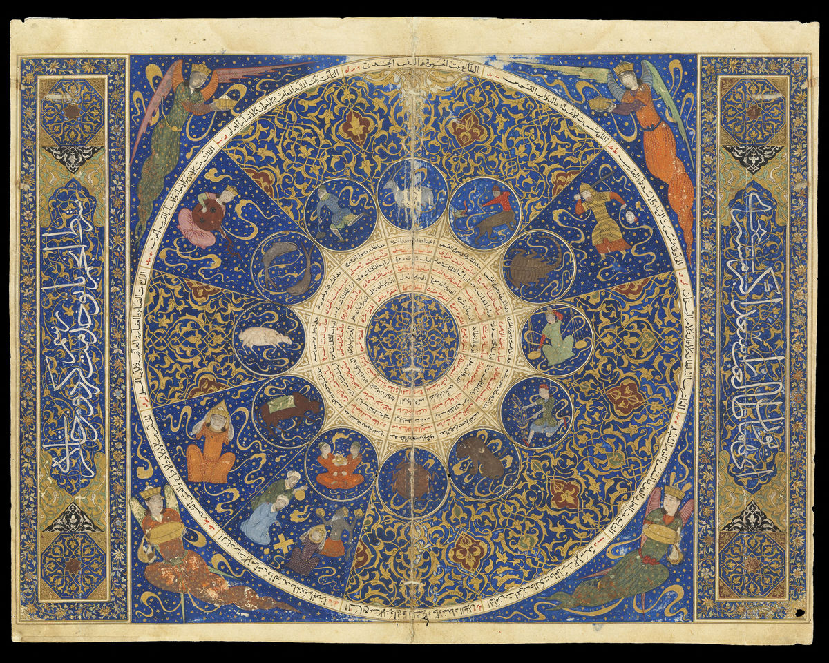 The Iskandar Horoscope - 15th Century