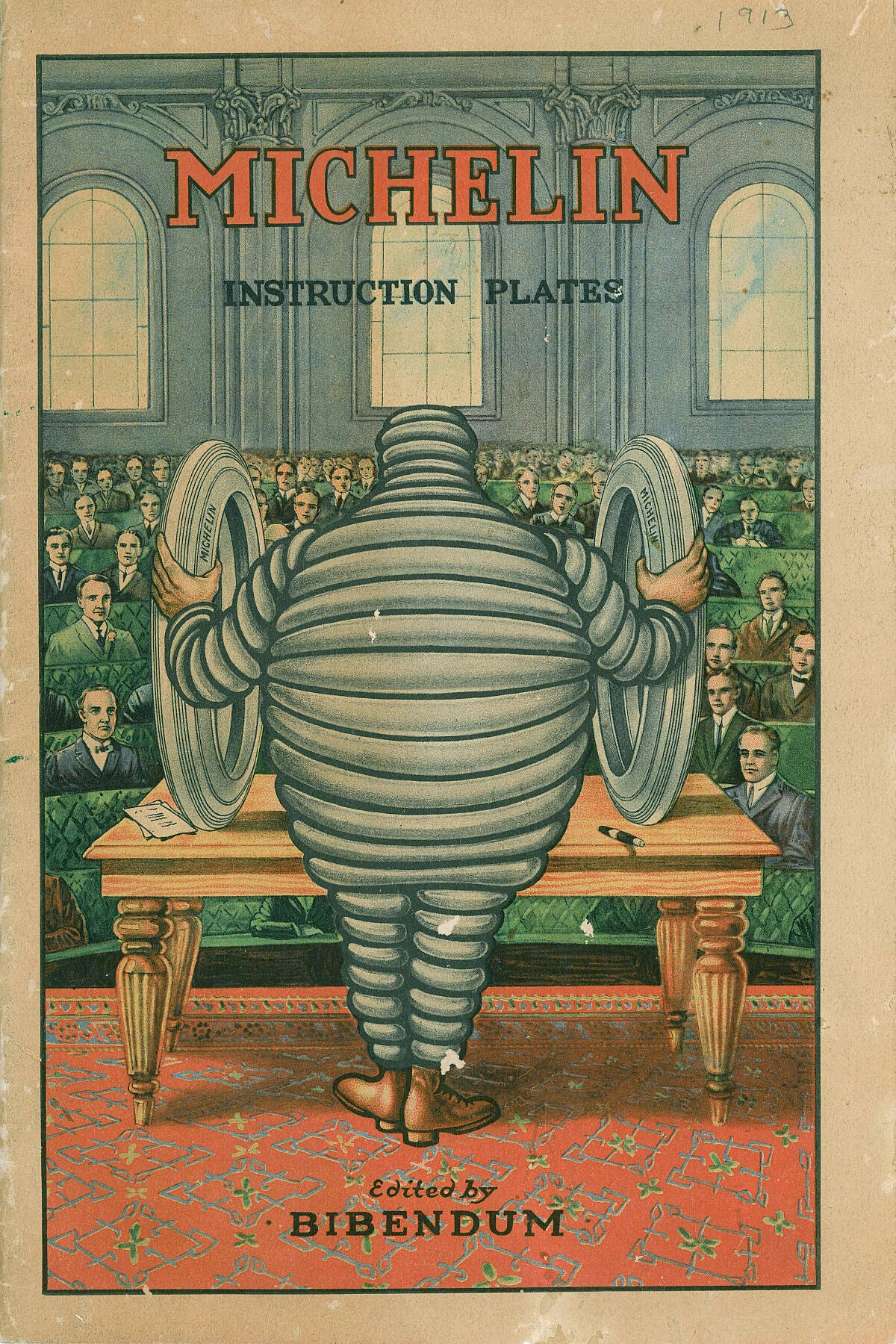 Michelin Instruction Plates - 1913