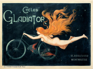 Cycles, poster for Gladiator - 1897