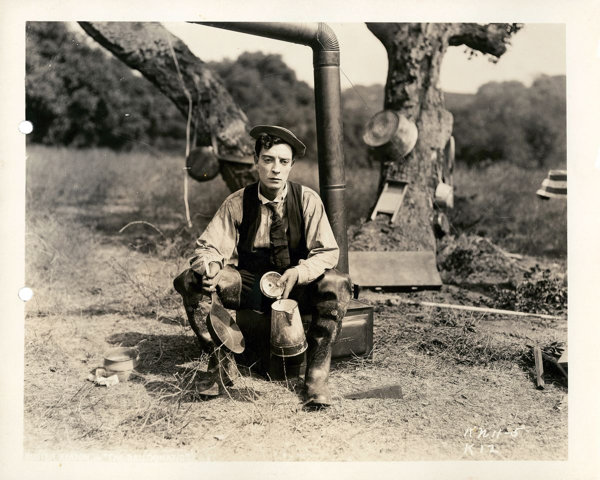 Still Photograph from Buster Keaton's 'Balloonatic' (II) - 1923