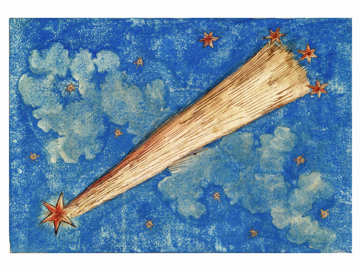 Painting of The Comet of 1532