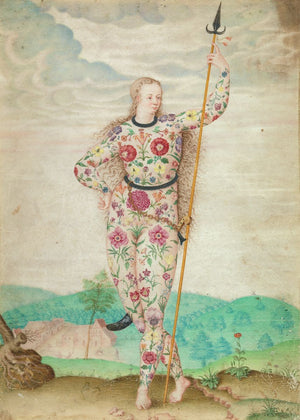 A Young Daughter of the Picts by Jacques Le Moyne de Morgue - c.1585