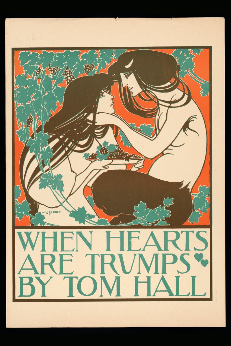 When Hearts Are Trumps by Will Bradley- 1895