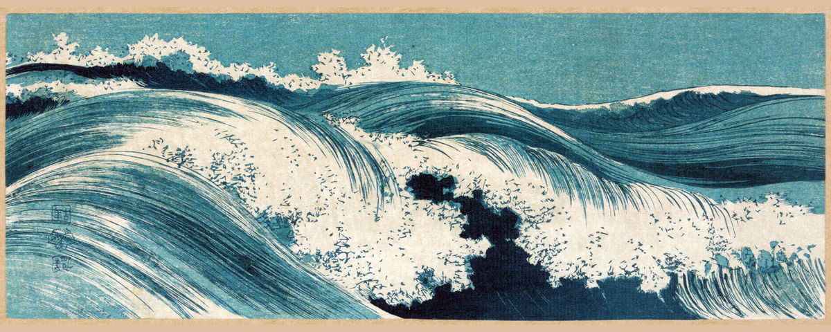 Hatō zu (Waves)