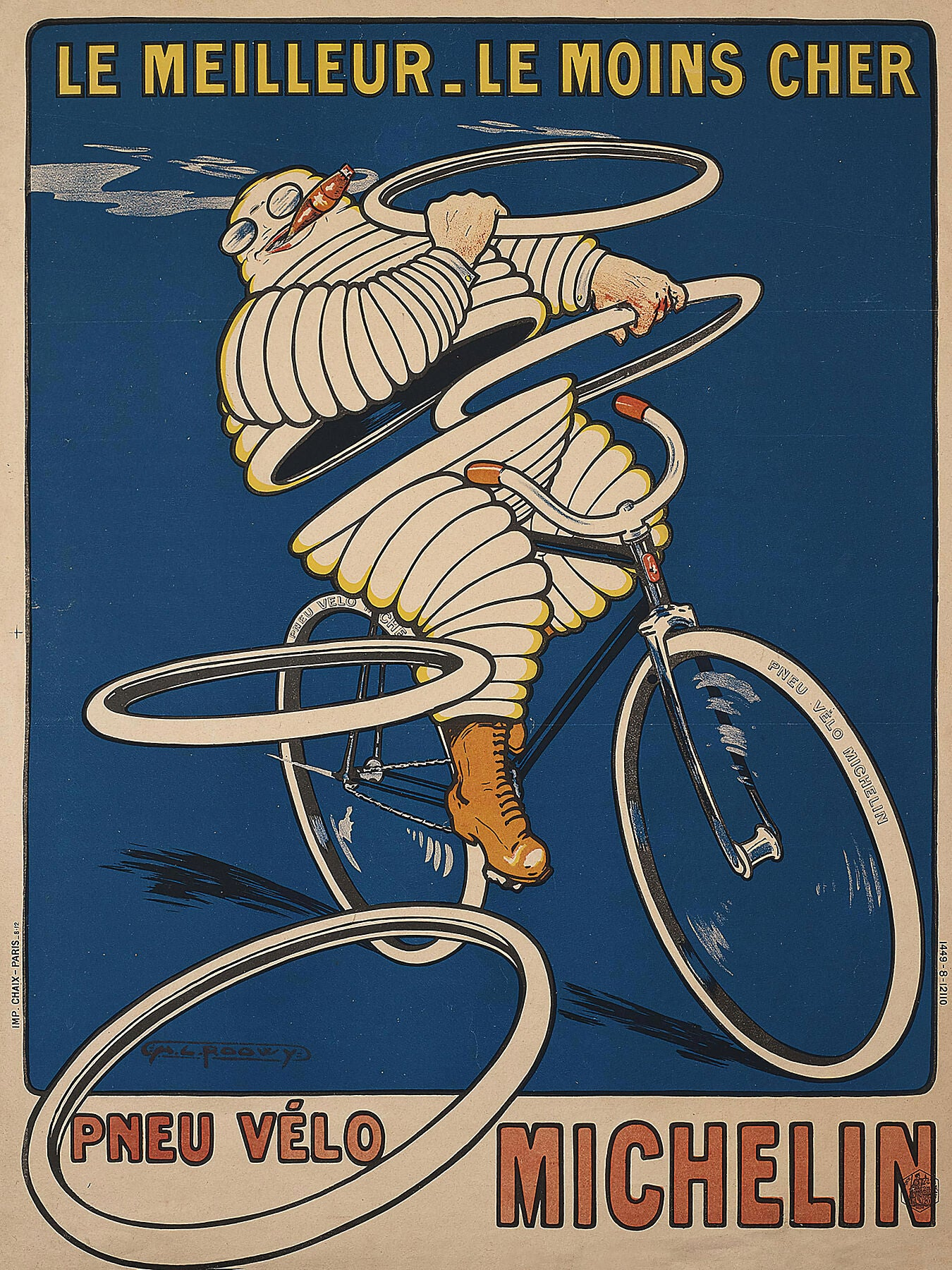 Pneu Velo Michelin by O'Galop - 1912