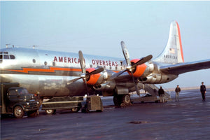 Boeing 377 Stratocruiser by Chalmers Butterfield - 1949-50