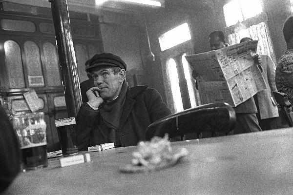 At The Pub in East London by Steve Lewis - 1960s