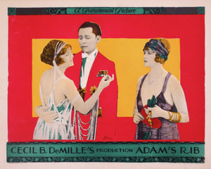 Adam's Rib Movie Lobby Card - 1923