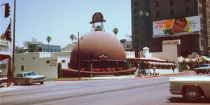 Brown Derby Restaurant in Los Angeles by Chalmers Butterfield - c.1955