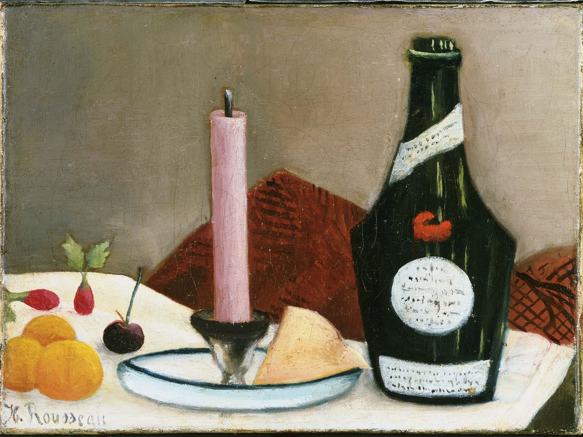The Pink Candle by Henri Rousseau - 1908
