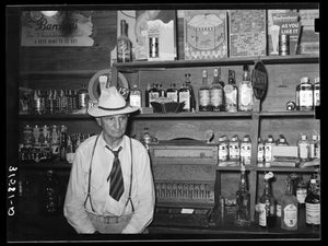 Barowner at Louisiana Rice Festival by Russell Lee - 1938