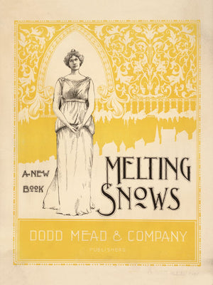 Melting Snows Advert - 1895